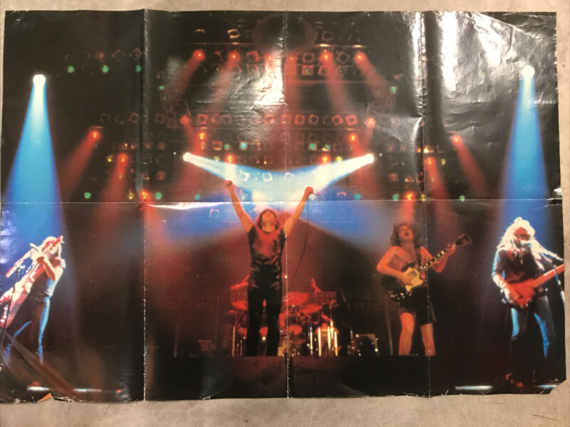 Vintage AC/DC Wall Poster