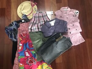 Lot of girls clothes various sizes brand names