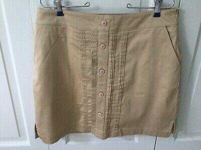 Women's Greg Norman Golf Skirt Skort - Tan - Size (Norman Women)