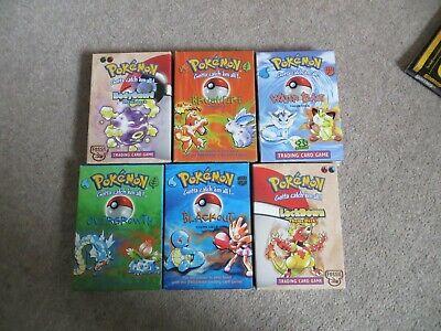 Pokemon Theme Decks bundle as shown