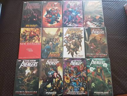 Marvel Softcover Graphic Novels - 2nd Hand