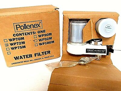 "Pollenex WP72M Pure Water ""99"" Multi Stage Faucet Water Filter NEW"