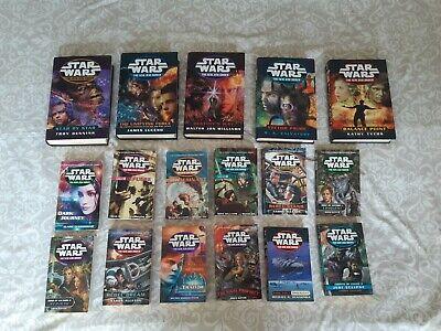 Star Wars Books x 15 The New Jedi Order Paperbacks & Hardbacks