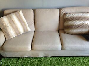 IKEA couch with chair