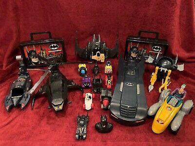 Vintage Batman Accessories: batmobile, joker car, and much more!