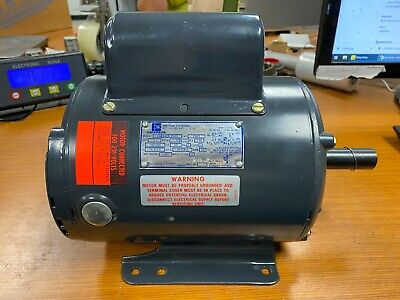 New Emerson 1 Hp Electric Ac Motor 115230 Vac 1725 Rpm 1 Phase 145t Frame