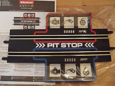 Carrera GO + Plus Pitstop Game Schiene nur für Plus Anschluß nicht Digital 143