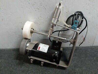 Power Feeder Assembly Dayton 90vdc Motor 4z140 18hp 4 Feeder Wheel  S23