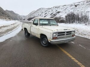 1986 Dodge D150 short box