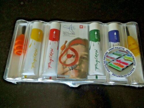 Finger Paint Kit with brushes Fingerpaints