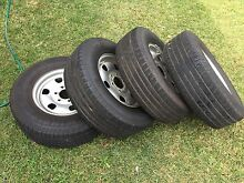 Ford courier ute 4wd 4x4 tyres & rims Merrylands Parramatta Area Preview