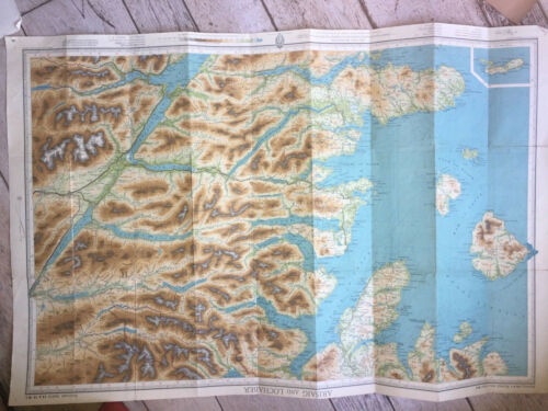 Original Vintage Early 20th Century 10 English Maps