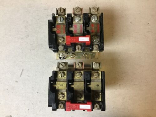 Square D 9065 SEO-5 Overload Relay With Heaters-Lot of 2