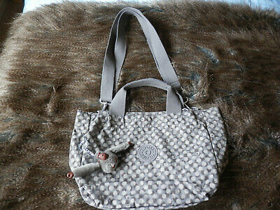 BNWT Kipling Dots Neutral Handbag With Shoulder Strap