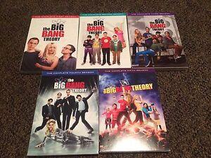Big Bang Theory seasons 1-5