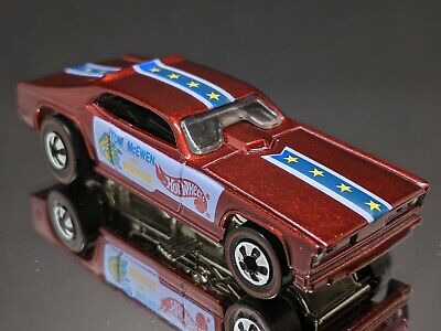 Hot Wheels Vintage Collection Mongoose Maroon / Red