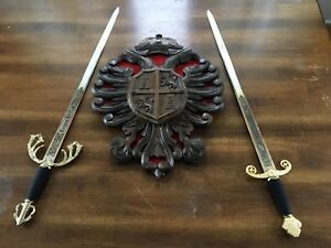 Tizona Del Cid sword set with display