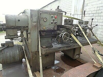 No. 3 Warner Swasey Turret Lathe M 2700 Electro Cycle Was Running In Shop