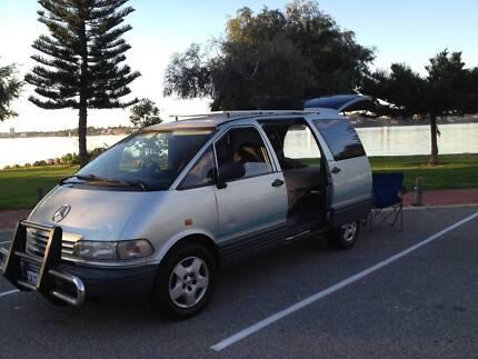 Toyota Tarago 93,Auto,Simple camper,2 mth rego ( WA) O'Connor Fremantle Area Preview
