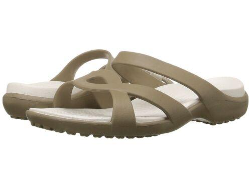 Crocs Meleen Twist Sandal Women's Khaki/Oyster 202497-24B