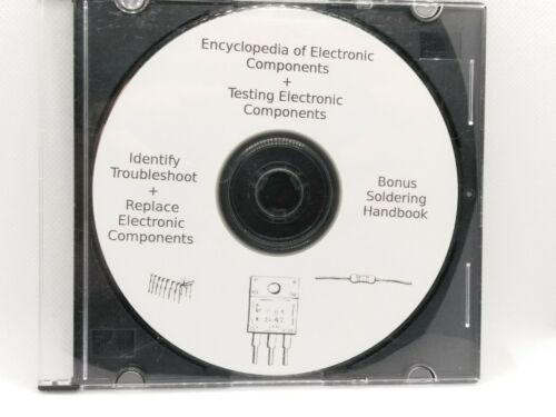 Encyclopedia of Electronic Components + Testing Electronic Components *PDF* *CD*