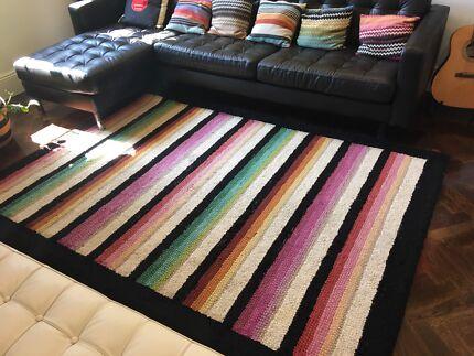 Missoni wool rug