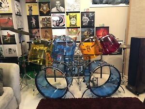 ***Reduced*** Ludwig Vistalite Jelly Bean 8 piece Kit