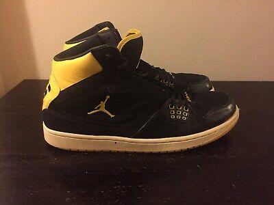 7a5d3b92da3f Nike Air Jordan 1 Flight Basketball Shoe Size 14 Yellow Black 372704-001  Sports ...