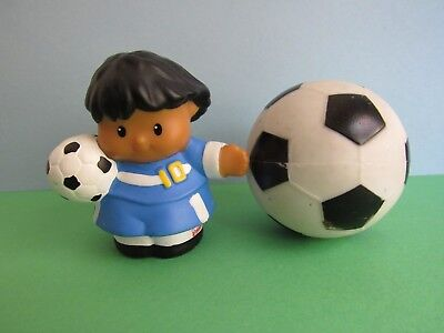 Soccer Boy with Soccer Ball - Fisher Price Little People