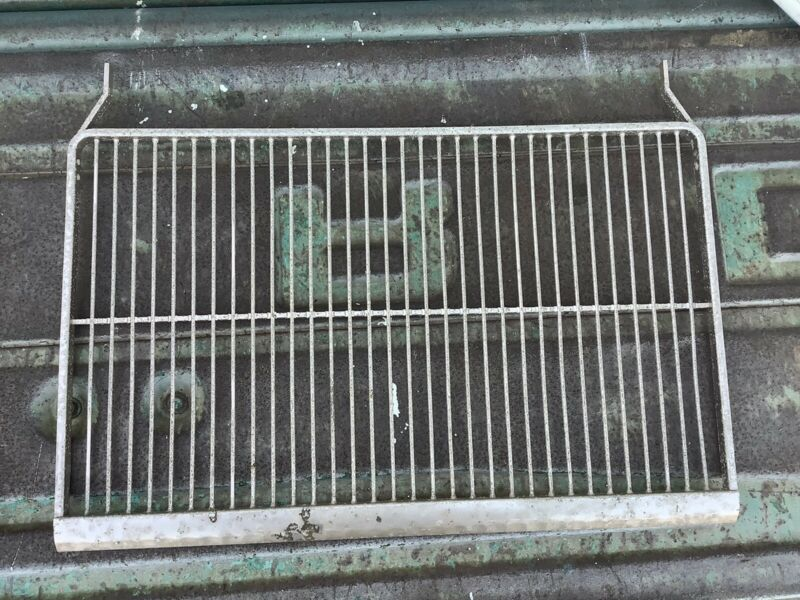 Shelf 1956 Philco V Handle Vintage Refrigerator
