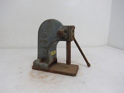 Vintage Famco Machine Co. Model 0 Blue Arbor Press Extended Base Plate 6g