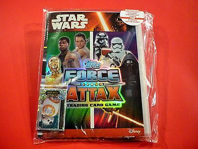 Star Wars Force Attax Erwachen der Macht Starterpack Sammelmappe Niederlande RAR
