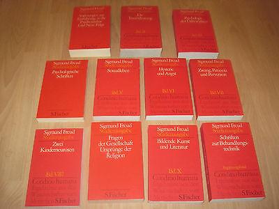 Sigmund Freud, Studienausgabe in 10 Bänden + Ergänzungsband