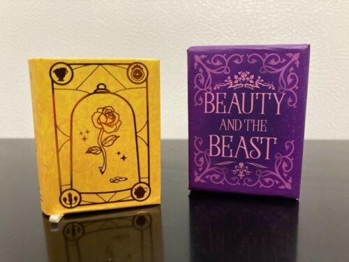 * Beauty and The Beast * ~ 2021 Hallmark Miniature Book ~ Disney ~ New ~ Cute! ~