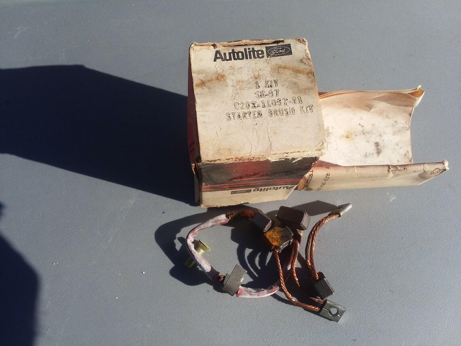 1960 61 62 63 64 65 66 Ford C2DZ-11057-A1 Starter Brush Kit Mercury Original
