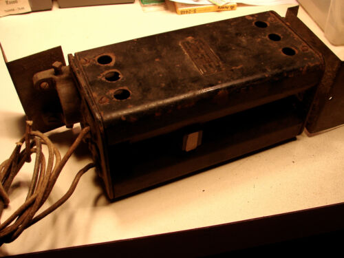 Vintage Ward Leonard 300w Vertical Mechanical Dimmer