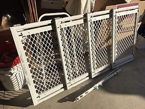 Extra wide and tall dog gate