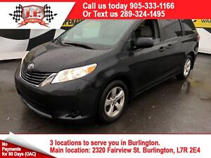 2017 Toyota Sienna SE, Automatic, 3rd Row Seating, Back Up Camer