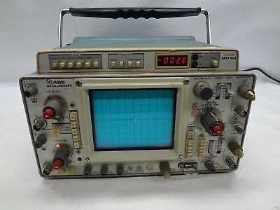 Tektronix 465 Oscilloscope With Dm 43