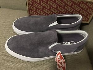 mens vans classic slip-ons size 11 but narrow so suit 10 new