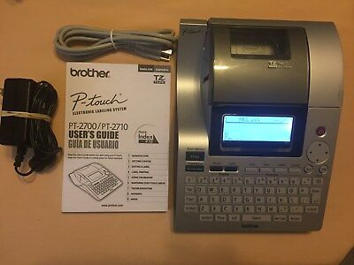 Brother P-touch Pt-27002710 Label Maker Usb Thermal Printer Labeling System