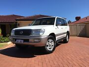 100 Series Land Cruiser Sahara, Factory Turbo Diesel 1HDFTE, 2003 Canning Vale Canning Area Preview