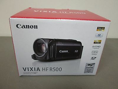 CANON VIXIA HF R500 1080HD VIDEO DIGITAL CAMCORDER  NEW!   RR 16249