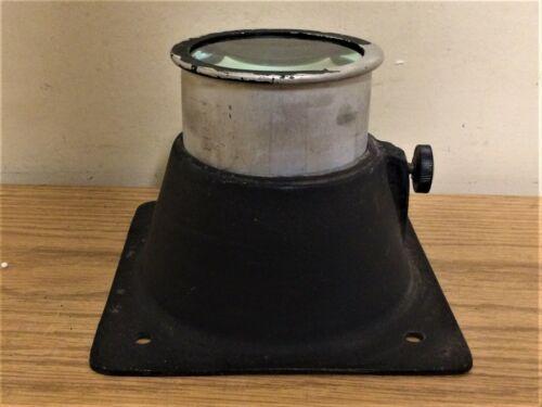 """Vintage Metal Gel Lens Adjustable Frame Stage Lighting 6 7/8"""" sq. 5 1/2"""" Hole #1"""