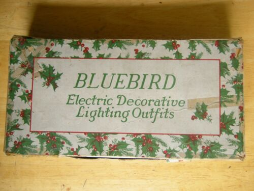 Vintage Bluebird  C6 Xmas Electric Decorative Lighting Outfits - Mid-1920