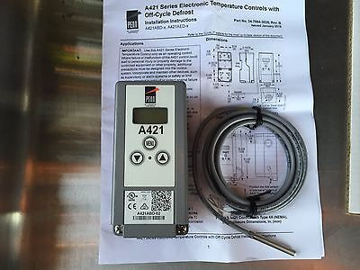 Johnson Control Electronic Thermostat With Off Cycle-defrost A421abd-02
