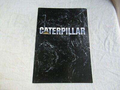 1990 Cat Caterpillar Operations Corporate Brochure Peoria Hq Engine Division