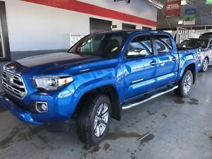 2018 Toyota Tacoma Limited   4X4   Leahter   NAV   *LOW KM Alert