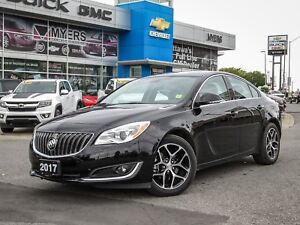 2017 Buick Regal SPORT TOURING, 2.0L TURBO AND LEATHER
