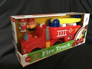 NEW LIGHTS AND SOUND FIRE TRUCK